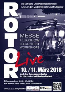 Rotor live auf der Rennbahn Iffezheim