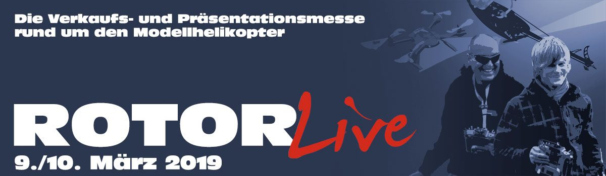 ROTOR live vom 9. bis 10. März 2019