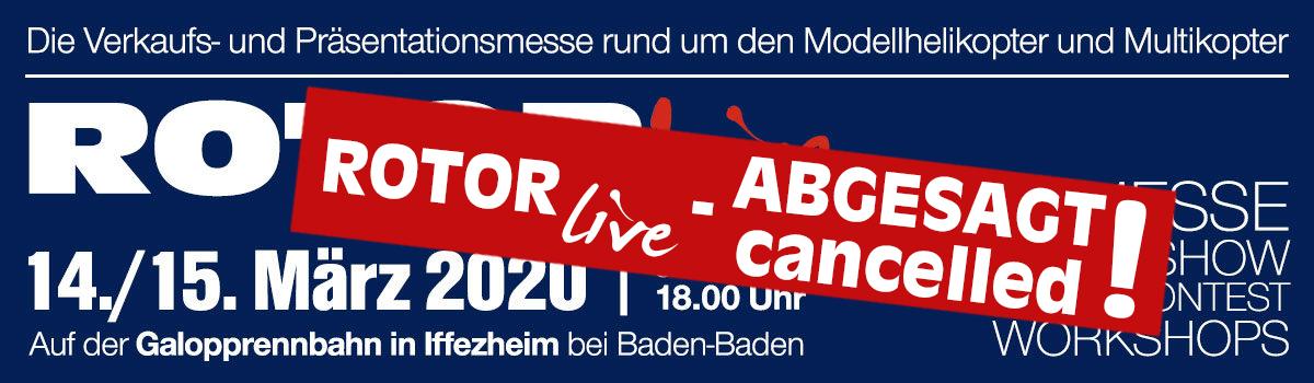 ROTOR live 2020 vom 14. bis 15. März 2020