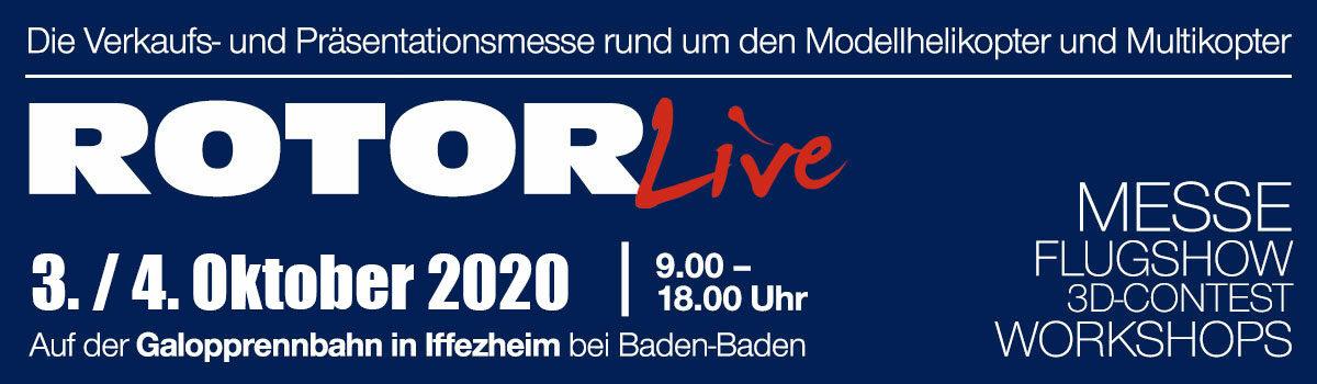 ROTOR live 2020 vom 3. bis 4. Oktober 2020